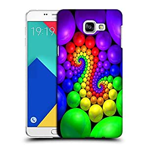 Snoogg Colorful Balls Designer Protective Back Case Cover For SAMSUNG A9