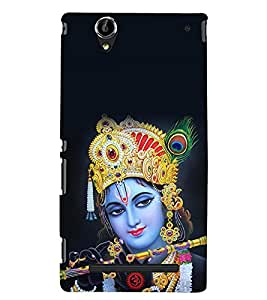 Kingcase Printed Back Case Cover For Sony Xperia T2 Ultra - Multicolor