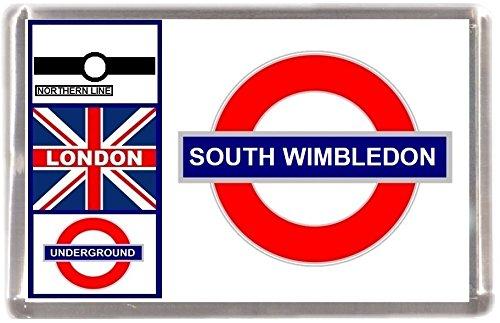 Kühlschrankmagnet London U-Bahn South Wimbledon Geschenk Tourist Souvenir Mit Englisch Wörter