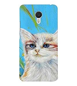 EPICCASE art cat Mobile Back Case Cover For Meizu M3 Note (Designer Case)