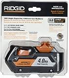 RIDGID 18-Volt Lithium Ion 4-Amp/Hour Pack R840087 (Retail Package)