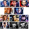 Doctor Who 11 Stamp Set