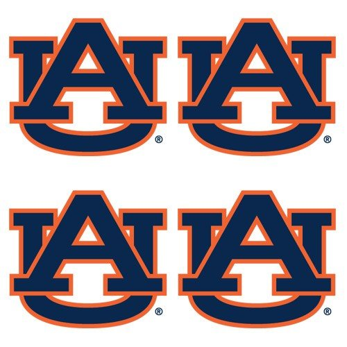NCAA Auburn Tigers 4-Pack Waterless Temporary Tattoos- - at Amazon.com
