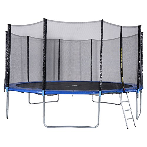 Bounce Trampoline Springs: Giantex Trampoline Combo Bounce Jump Safety Enclosure Net