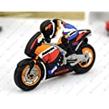 Cool Motorcycle Model 8GB 16GB 32GB USB 2.0 Flash Drive Memory Stick Thumb Pen Drive (8GB)