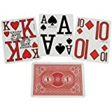 Marinoff Low Vision Poker Size Playing Cards ** 2 DECKS ** Blue/Red
