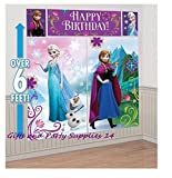 Disney Frozen Scene Setter Plastic Wall Decorating Kit (Each)
