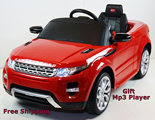 2015 Licensed Range Rover Evoque 12v Kids Ride on Power Wheels Battery Toy Car,Remote control,Lights,Music-Red (Range Rover Baby compare prices)