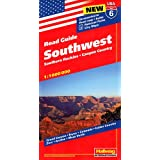 Hallwag USA Road Guide 06. Southwest 1 : 1 000 000: Southern Rockies. Canyon Country. Straßenkarte. Road map....