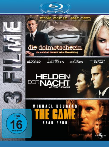 The Game/Die Dolmetscherin/Helden der Nacht [Blu-ray]
