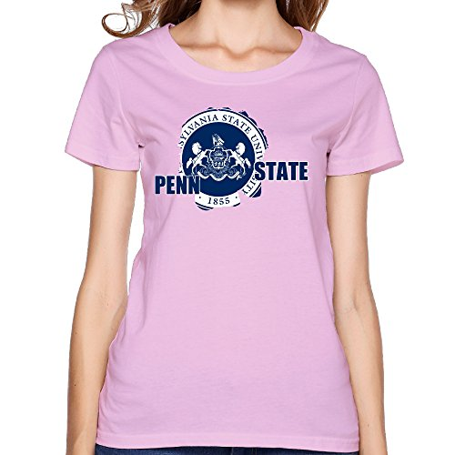 VOLTE Pennsylvania State University Women's Funny Tee L Pink