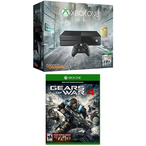 Xbox One 1TB Console - Tom Clancy's The Division Bundle and Gears of War 4 Standard Physical (Xbox One Console Gears Of War compare prices)