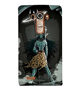 Vizagbeats standing shiva Back Case Cover for LG G4::LG G4 H815