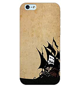 PrintDhaba SHIP D-6601 Back Case Cover for APPLE IPHONE 6S (Multi-Coloured)