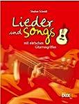 Lieder & Songs mit einfachen Gitarren...
