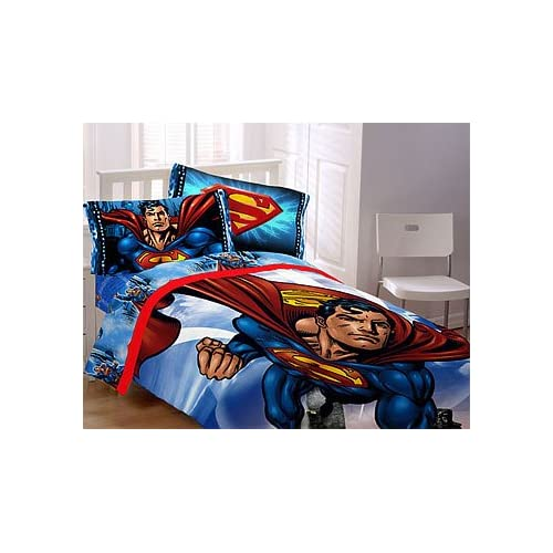 Superman - Flying High - 6pc DC Comics BED IN A BAG - Boys Full/Double