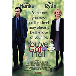You've Got Mail Poster Movie 11x17 Meg Ryan Tom Hanks Parker Posey Greg Kinnear