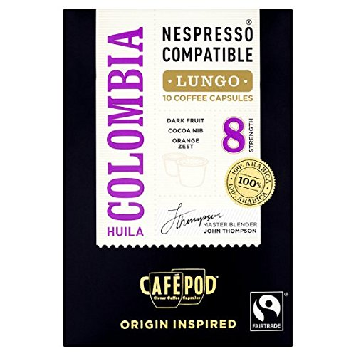 Purchase Cafepod Fair Trade Colombian Coffee Pods 10 Servings by Cafepod