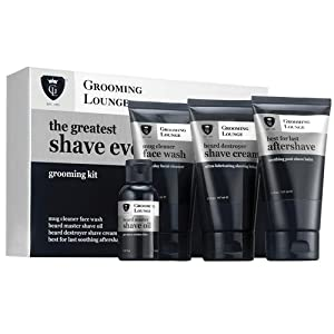 Grooming Lounge Greatest Shave Ever 4-Piece Kit from Grooming Lounge