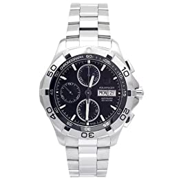 TAG Heuer Men s CAF2010 BA0815 Aquaracer Automatic Chronograph Watch