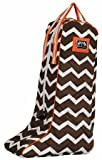 Equine Couture Abby Boot Bag, Chocolate/Burnt Orange, Standard