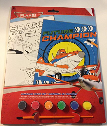Disney Planes Character Coloring Paint Set - 1