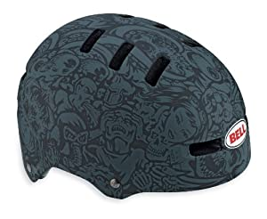 Bell Faction Bike Helmet, Charcoal/Black Jimbo Phillips, Medium