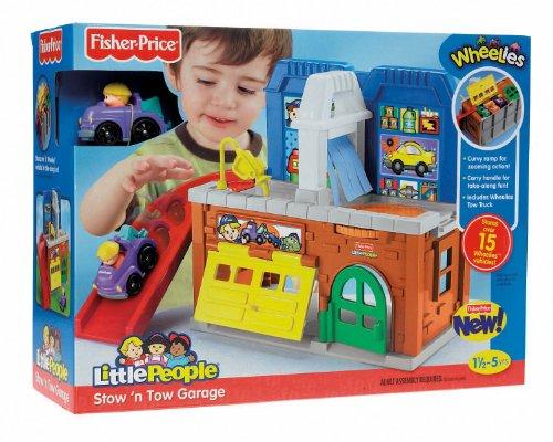Buy Fisher Price Little People Wheelies Storage Garage Buybabytoddlersaleonline2
