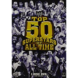 Top 50 Superstars Of All Time (Single Disc)