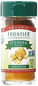 Frontier Herb Organic Ground Turmeric Root 1.28 oz.