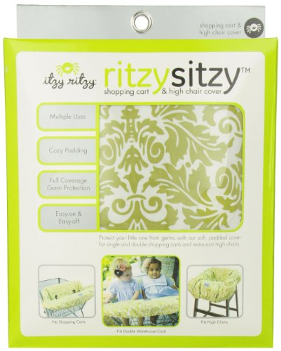 Itzy Ritzy Shopping Cart and High Chair Cover - 1
