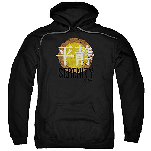 Firefly Serenity Logo Mens Pullover Hoodie Black Md (Serenity Movie Merchandise compare prices)