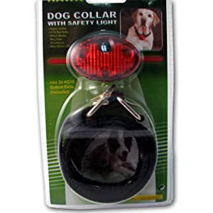 Amazon.com : Mayday Industries Dog Collar With Safety Light : Pet
