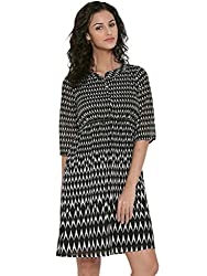 Sera Women's Fit & Flare midie dress