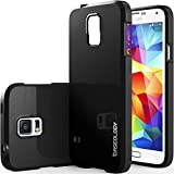 img - for Galaxy S5 Case, Caseology  [Daybreak Series] Slim Fit Shock Absorbent Cover [Black] [Slip Resistant] for Samsung Galaxy S5 - Black book / textbook / text book