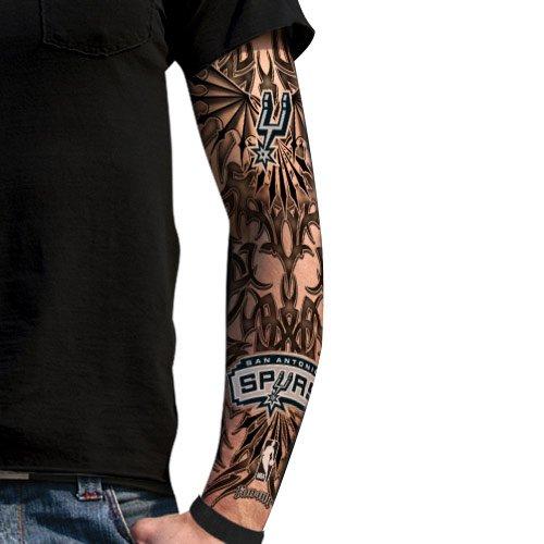 nba san antonio spurs light undertone tattoo sleeve