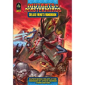 """Mutants Masterminds Deluxe Heros Hand (Hardcover)By Stephen Kenson        Buy new: $27.7417 used and new from $23.00    Customer Rating:     First tagged """"superhero"""" by Michael"""