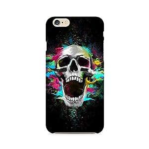 RAYITE Screaming Skull Premium Printed Mobile Back Case For Apple iPhone 6 Plus/6s Plus