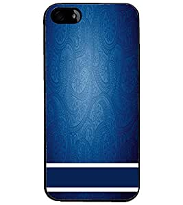 PrintDhaba Pattern D-2200 Back Case Cover for APPLE IPHONE 5 (Multi-Coloured)