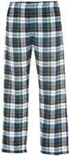 Youth Campbell Blue Green White Tartan Plaid Check Classic