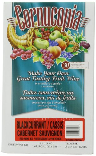 Cornucopia Fruit Wine  Kit, Red Black Current
