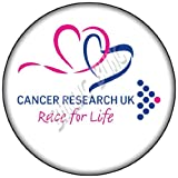 RACE FOR LIFE Cancer Research UK CHARITY 7.5 inch Icing Cake Topper Design by Baking Bling