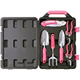Apollo Precision Tools DT3706P Garden Tool Kit, Pink, 6-Piece
