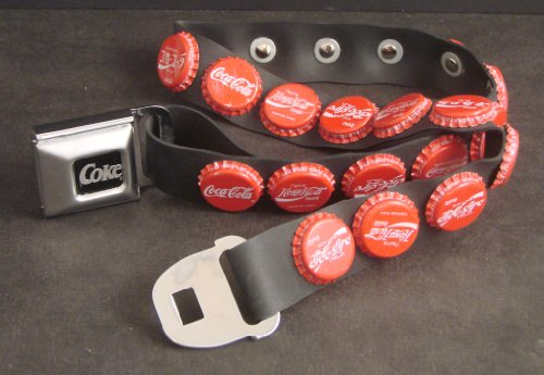 International Coca-Cola Bottle Cap Seatbelt Belt