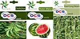 DCS Dolichos and water melon and yard long beans (pack of 3 per pack 50 seeds)