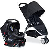Britax B-Agile 3/B-Safe 35 Travel System, Black (Prior Model)