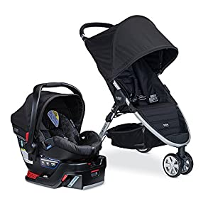 Britax B-Agile 3/B-Safe 35 Travel System, Black