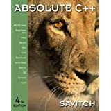Absolute C++ (4th Edition)by Walter Savitch
