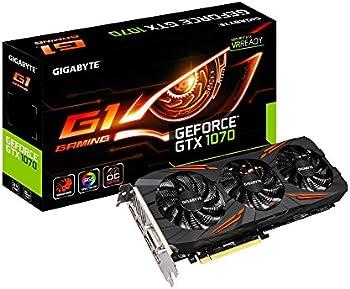 GIGABYTE GeForce GTX 1070 DirectX 12 Gaming 8GB Video Card