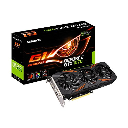 Gigabyte GeForce GTX 1070 G1 Gaming Video/Graphics…